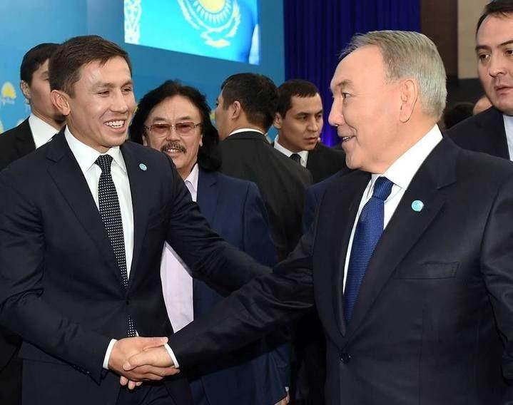 Побей их как можно больше и возвращайся - Назарбаев Головкину