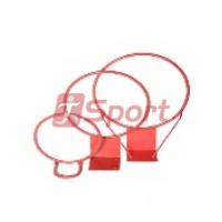 Кольцо баскетбольное метал. №5 (труба) без сетки д.380 мм