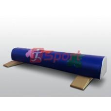 Бревно гимнастическое 2 м круглое напольное мягкое с аппликацией